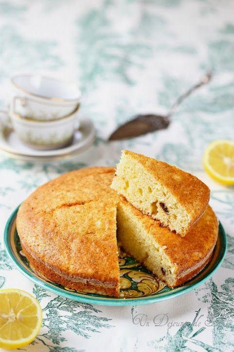 Gâteau sarde à la ricotta et citron (sans beurre)