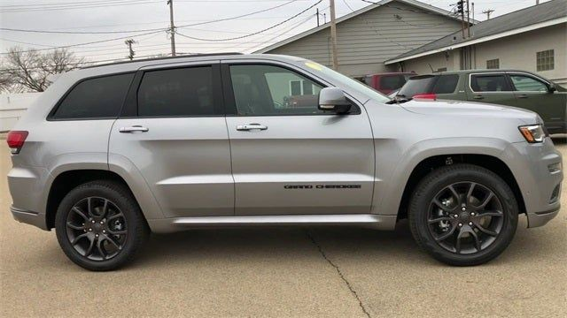 2020 Jeep Grand Cherokee Overland High Altitude Ii Package Jeep Grand Cherokee Jeep Grand Jeep