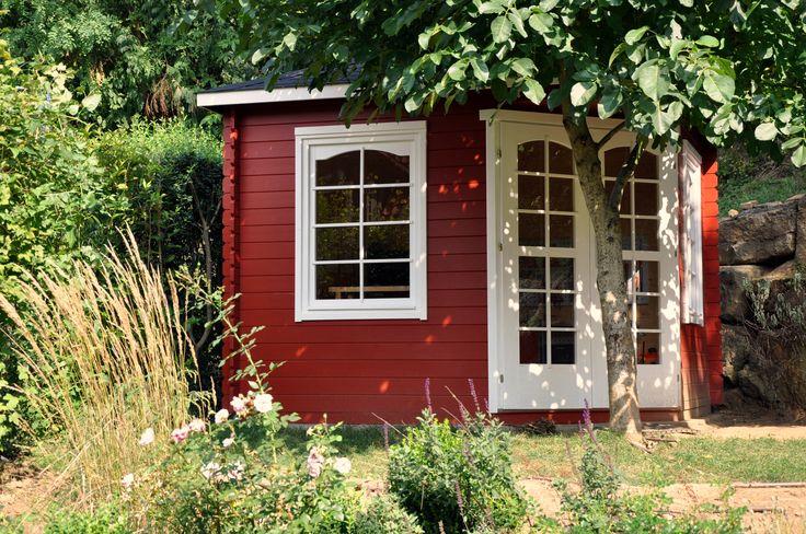 62 besten gartenh user schwedenrot bilder auf pinterest. Black Bedroom Furniture Sets. Home Design Ideas