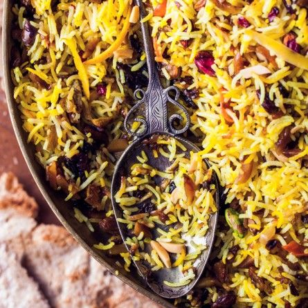 Jeweled Rice Recipe