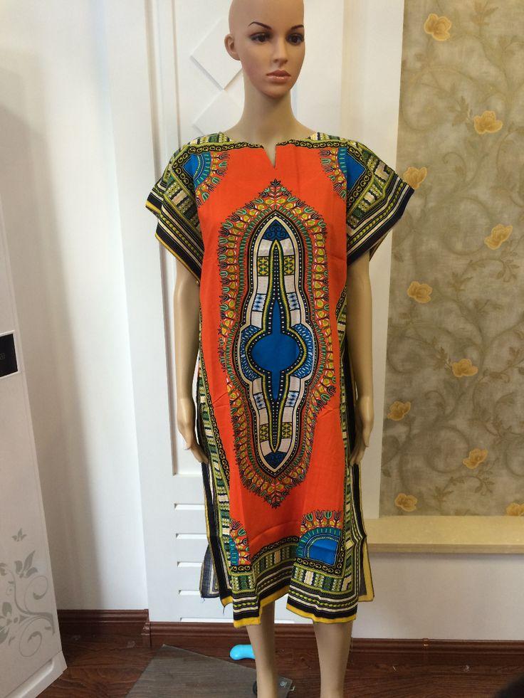 Hipster woman African fashion design african traditional print Dashiki T tee Shirt dress african wanmen