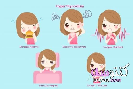 علامات فرط نشاط الغدة الدرقية In 2021 Hyperthyroidism Thyroid Symptoms Overactive Thyroid