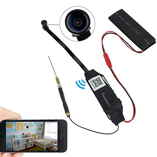 Toughsty™ 1920x1080P HD Mini Wifi Hidden Camera Motion Activated Camcorder Video Recorder Support IOS Android Smartphone APP Remote View 140° Wide View - http://our-shopping-store.com