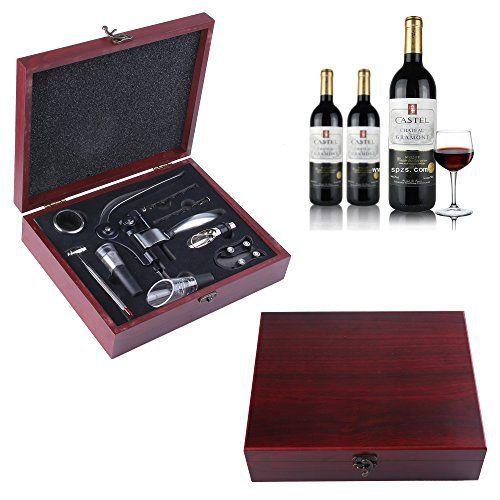 Ouvre-bouteilles de vin, GWCLEO 9pcs Ouvre-bouteilles en vin d'acier inoxydable Ouvre-bouteilles en vin d'acier inoxydable Levier de lapin…