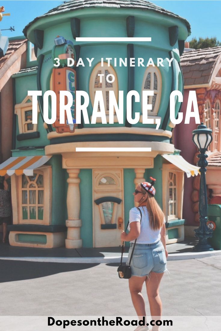 Torrance, California is the ideal to start your Southern California adventures.