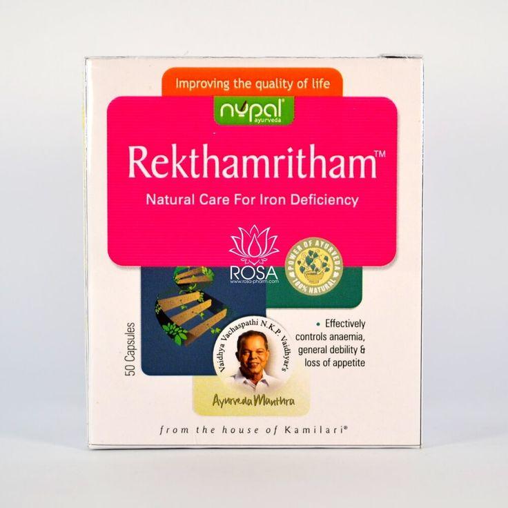 Ректамритам (Rekthamritham, Nupal Remedies) увеличивает количество кровяных телец, против анемии Ректамритам — идеальный железосодержащий тоник для всех возрастов, для всех видов анаемий. Ректамритам очищает кровь, увеличивая количество кровяных телец. Оживляет все системы организма, повышает аппетит, что особенно хорошо в периоды выздоровления.