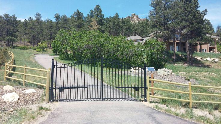 Solar Powered Gates From Amazing Gates Driveway Gates
