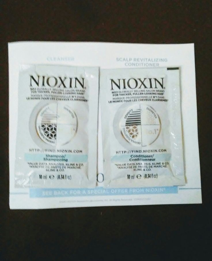 Free Nioxin Shampoo and Conditioner sample pack from Find.nioxin.com👈 #beauty #shampoo #conditioner #nioxin #freesample #gotitfree #nocharge #sample