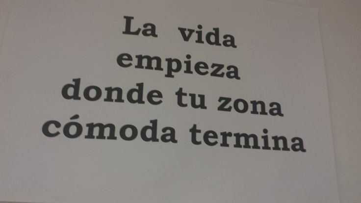 Si sales de tu zona cómoda empezaras a vivir. Te atreves? #Zonacomoda #Aprendeavivir #Jubilatealos40 #DiegogOnline   Jubilarse a Los 40 es Posible, apúntate AQUÍ >>> http://bit.ly/Jubilatealos40