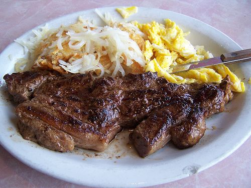 Steak and eggs, Steaks and Eggs on Pinterest
