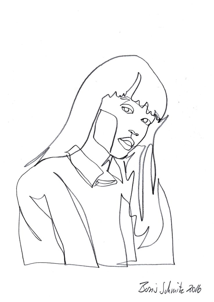 Simple Contour Line Drawing : Best line drawing images on pinterest embroidery