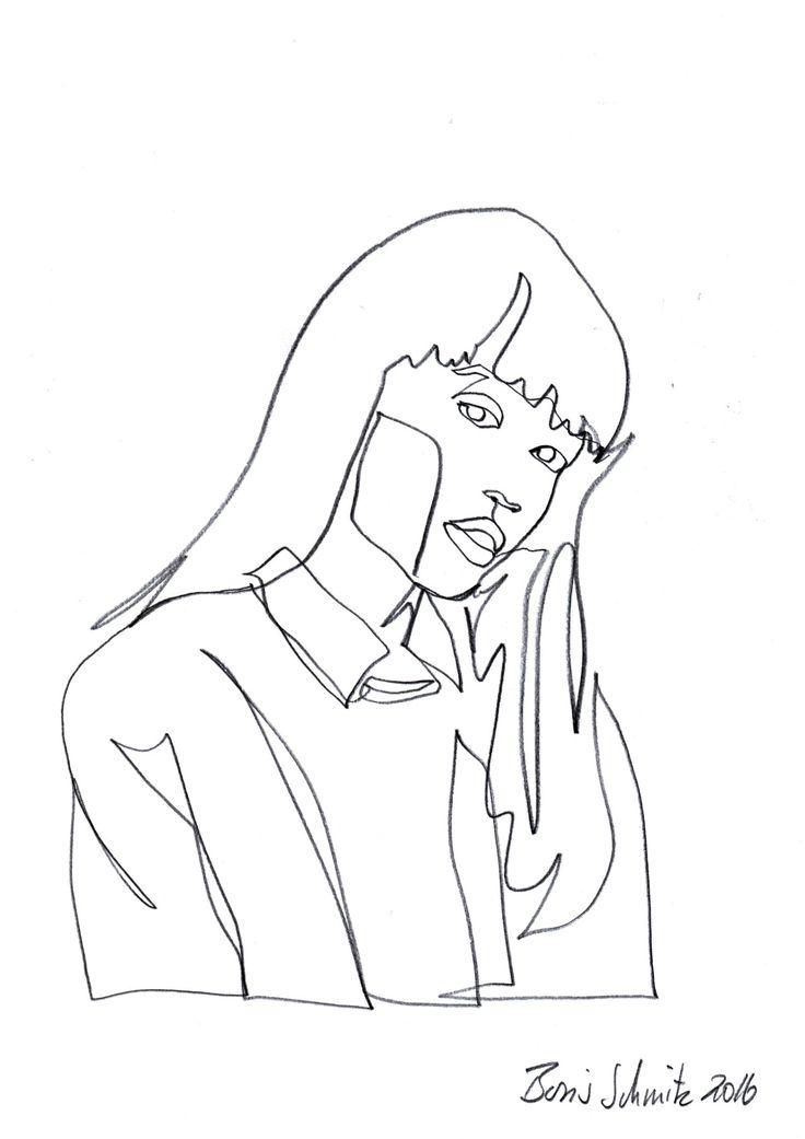 Contour Line Drawing Of A Person : Boris schmitz portfolio foto line drawings pinterest