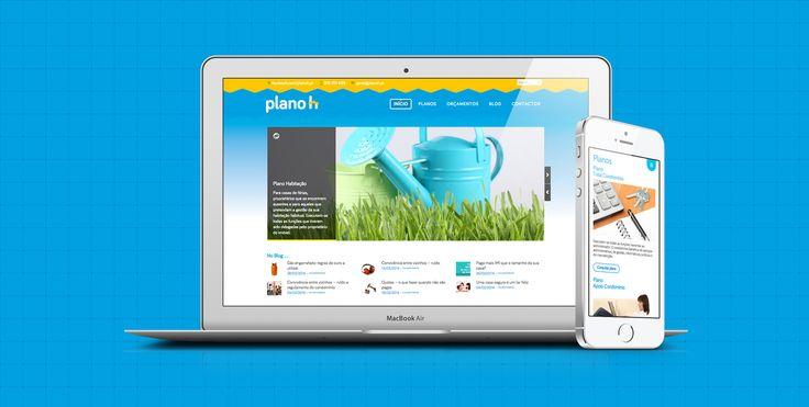 Responsive wordpress website for Planoh