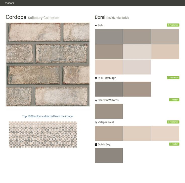 Cordoba Salisbury Collection Residential Brick Boral