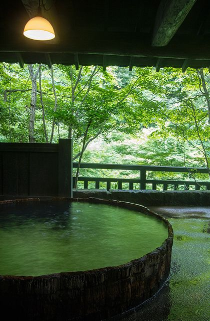 Hot Spring Bath at Sanga Ryokan Ryokan | Japanese Guest Houses