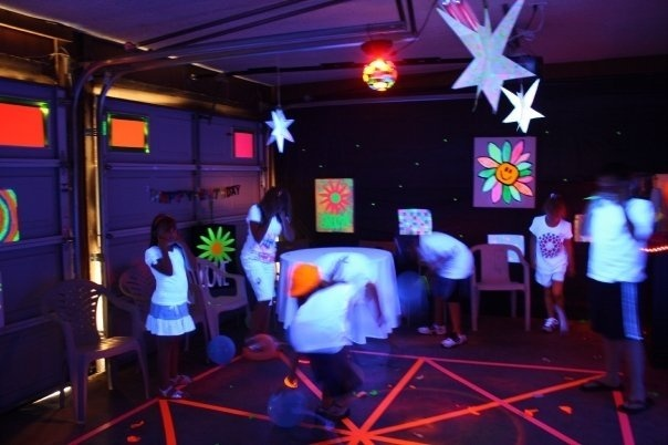 102 Best Images About Neon Glow Blacklight Party On