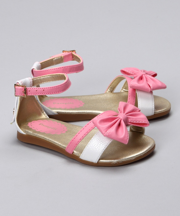These sweet leather sandals make the family photo outfit all the more  precious. Featuring a delicate and dainty bow, these fashionable shoes are  only ...