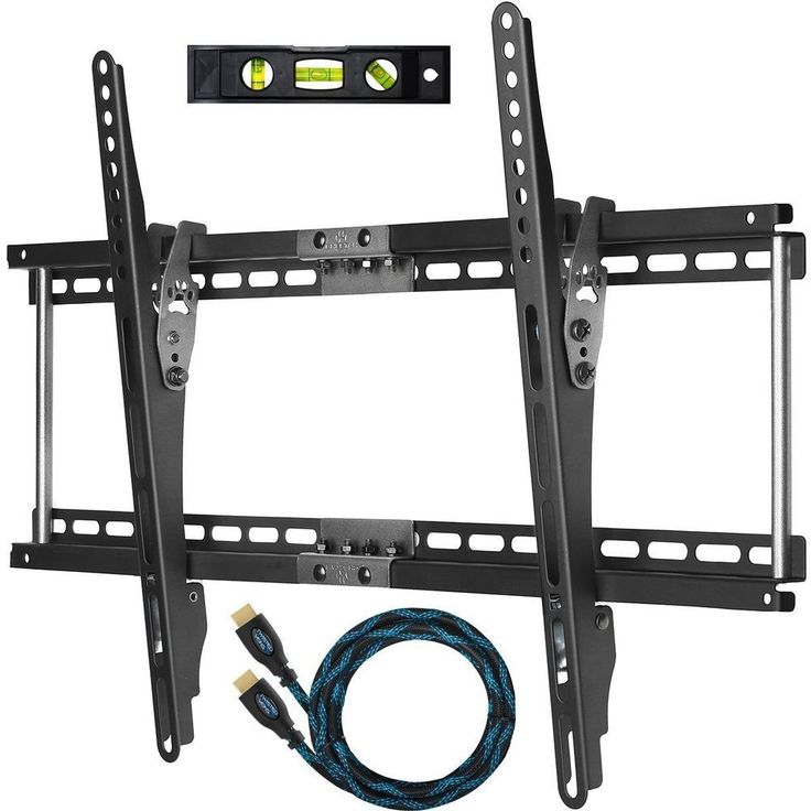 TV Wall Mount Slim Thin Flat Bracket for 32 to 65 Inch TVs LED, LCD and Plasma #Cheetah