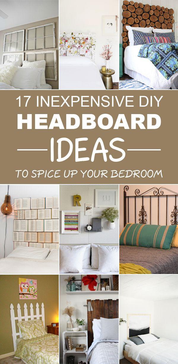 17 amazing diy headboard ideas to upgrade your bedroom - Hausgemachte Kopfteile Mit Regalen
