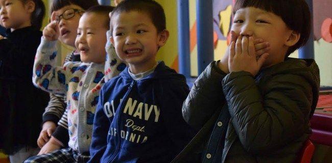 Преподавание английского языка детям в Китае