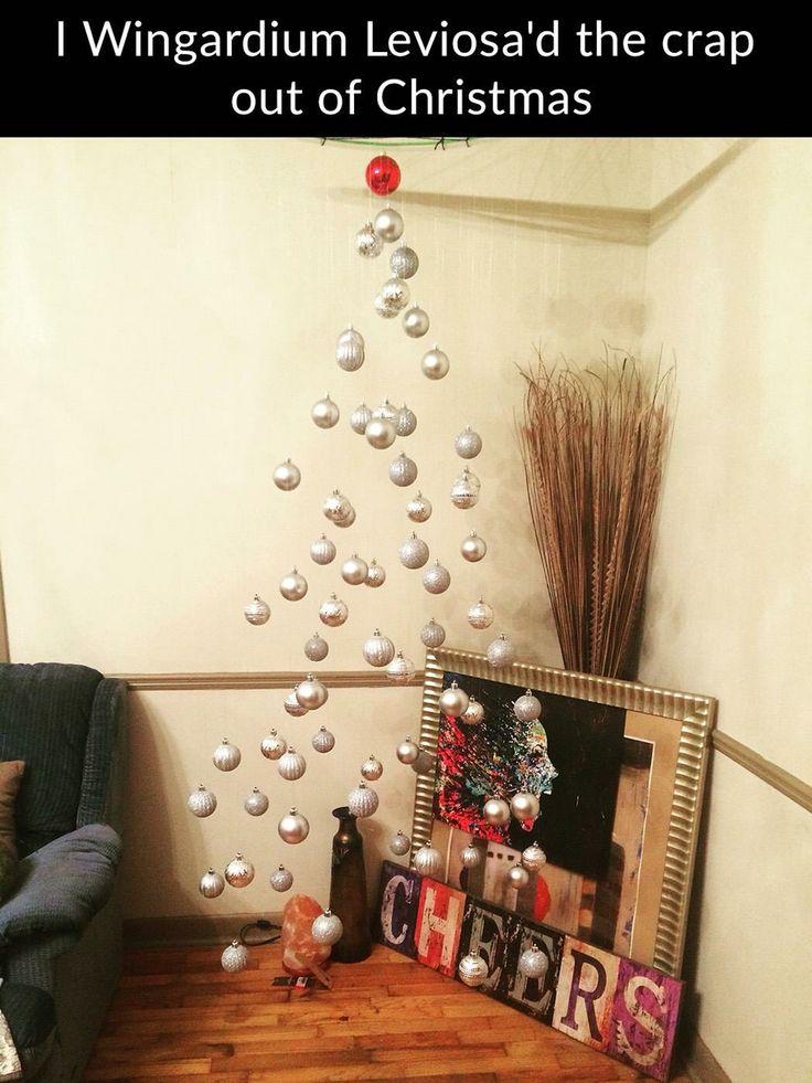 8e095b6e2c6d3d22f5dc7ccccae48cdb harry potter christmas xmas trees