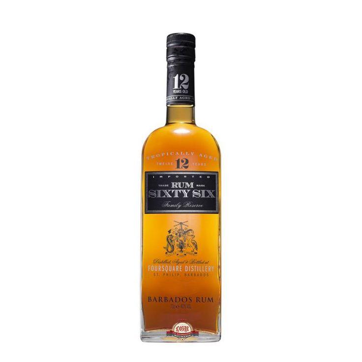Produit dans la distillerie Foursquare située dans les Barbade, Rum Sixty Six est un rhum traditionnel (distillé à partir de mélasse) âgé de 12 ans. Un assemblage d'eaux-de-vie distillées en alambic à colonnes et à repasse, et vieillies dans des fûts de chêne blanc américains ayant contenu du whiskey Bourbon.  Un rhum complexe, riche et long en bouche, marqué par des notes de raisins secs, de mélasse, de pruneaux, de vanille et de chêne.
