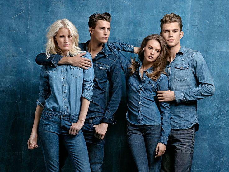 """Vi siete mai chiesti da cosa deriva il nome blue-jeans? Il termine inglese blue - #jeans deriva dal francese """"bleu de Gênes"""", ovvero """"blu di Genova"""