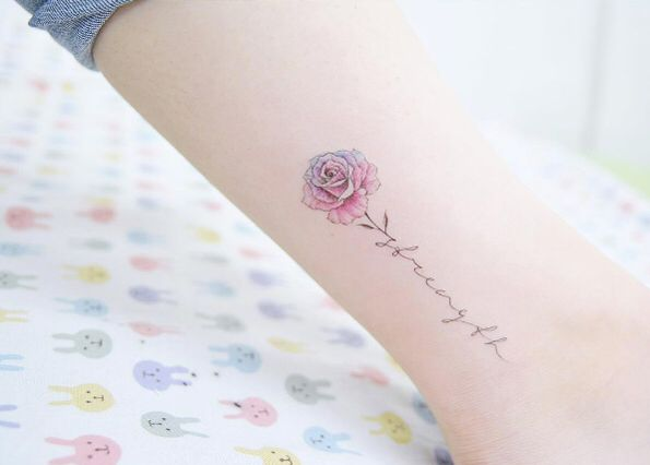 tattoos meaning strength and love