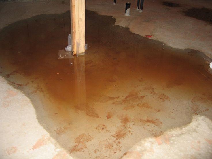 Lovely Water Seepage In Basement Floor