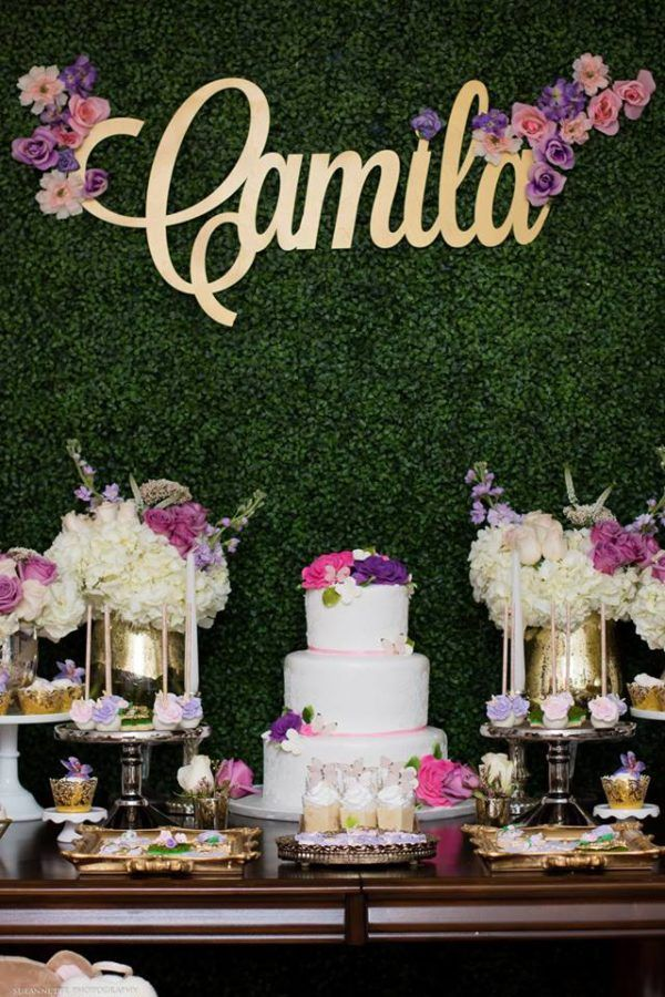 Chic-Floral-Garden-Baby-Shower-Dessert-Table  Baby Girl -1234