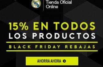Black Friday en La Tienda del Real Madrid