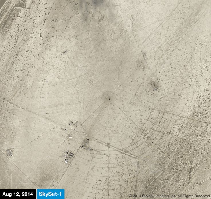 Google bought Skybox Imaging for $500 million, and the micro-satellite company's most recent mission was…to take photos of Burning Man. Skybox repeatedly flew its satellites over Burning Man…