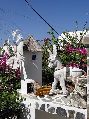 Art installation, Greek style. Paros / Cyclades