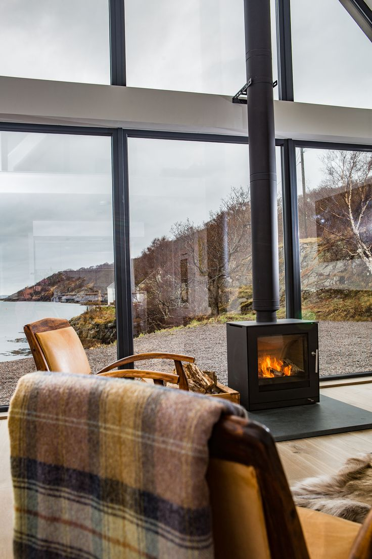 Warm and cozy atmosphere with Rais Q-Tee 2. Picture from Scotland. #Rais #Cozy #Nordicliving #Danish #Design