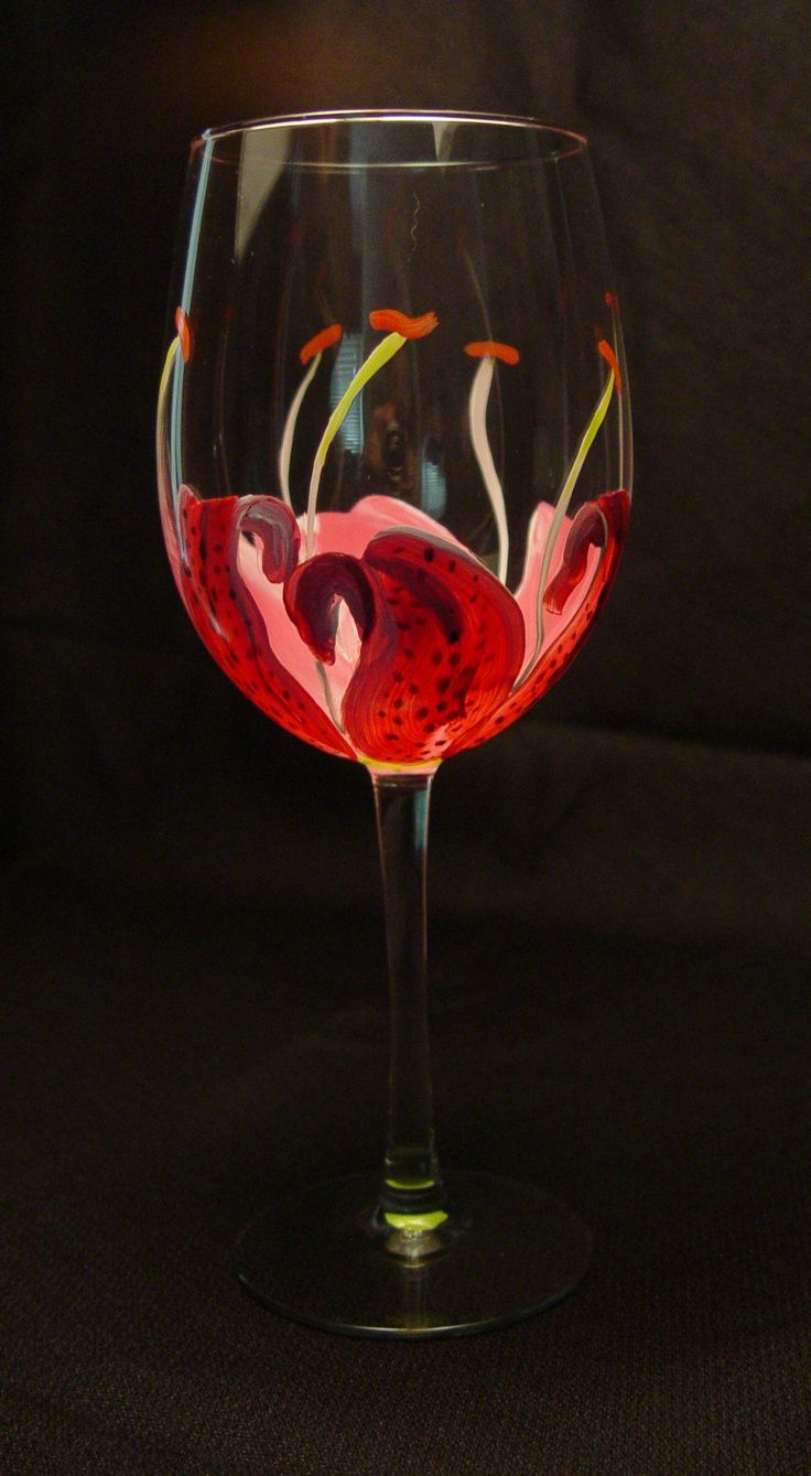 26 best images about hand painted wine glasses for mother 39 s day on pinterest. Black Bedroom Furniture Sets. Home Design Ideas