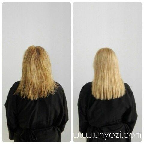¿Cual es el resultado final del tratamiento de queratina?     El cabello recupera queratina dejándolo. suave. hidratado. fuerza. brillo. Su duración es de 60-90 días.  Pídenos cita al 933.518.359 ☎️ Siguenos en https://instagram.com/unyozisalon  #unyozibarcelona #keratintreatments #mejor_alisado_barcelona #hidralaser #queratina #haircut #peluqueriabcn #bestsalonbarcelona #alisadopermanente #botoxcapilar #brazilianblowout