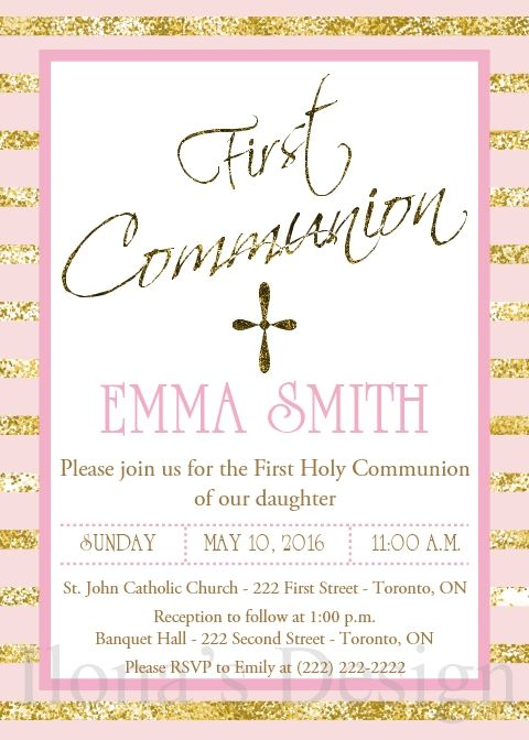 Storkie Communion Invitations with great invitations ideas