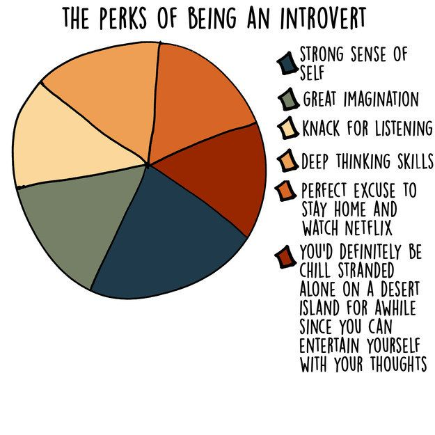 Humorous Charts and Graphs Show What Being an Introvert Is All About - My Modern Met