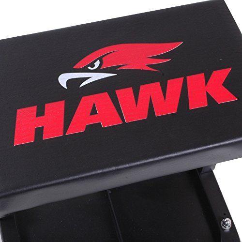 Discounted Hawk Tools Pneumatic Mechanics Workshop Dolly Square Car Van Automotive Shop Creeper Rolling Stool Seat For Sale