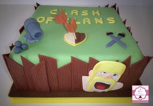 Torta Clash of Clans