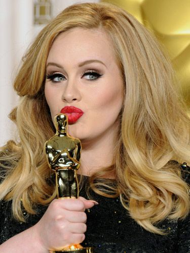 Celeb hairdresser tells us step-by-step how to get Adele's #oscars hair-do #hairspiration