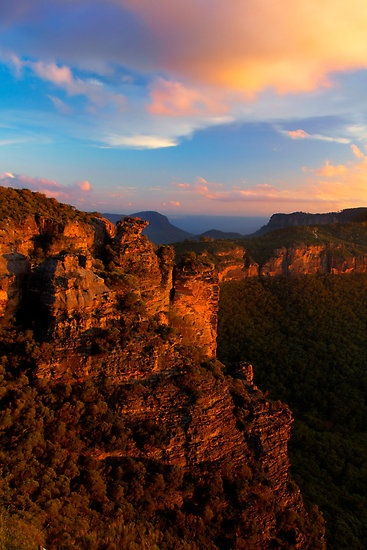 Boar's Head Rock, Blue Mountains National Park, New South Wales, Australia. By Andy Newman.
