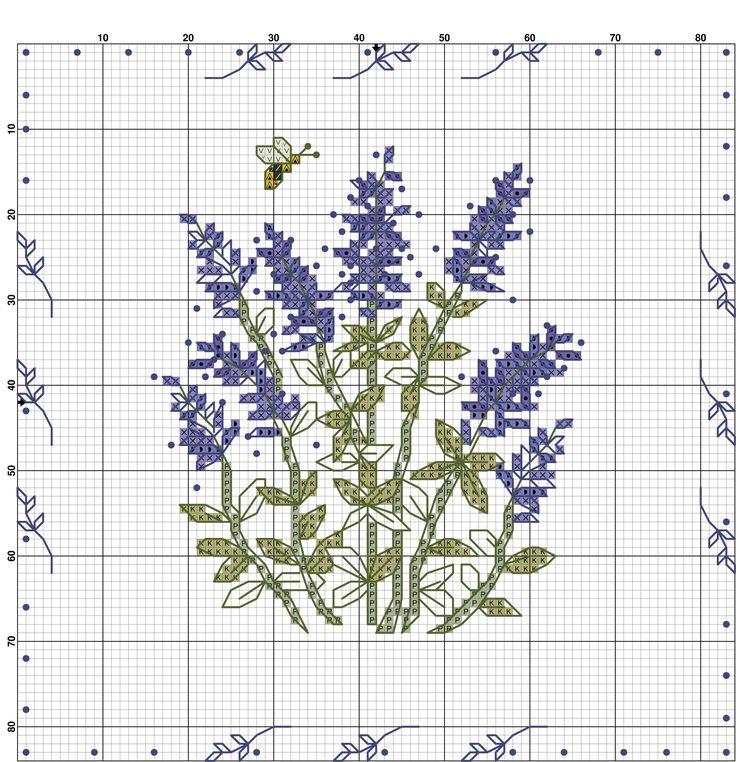 Kanaviçe Çiçek Örnekleri (11)