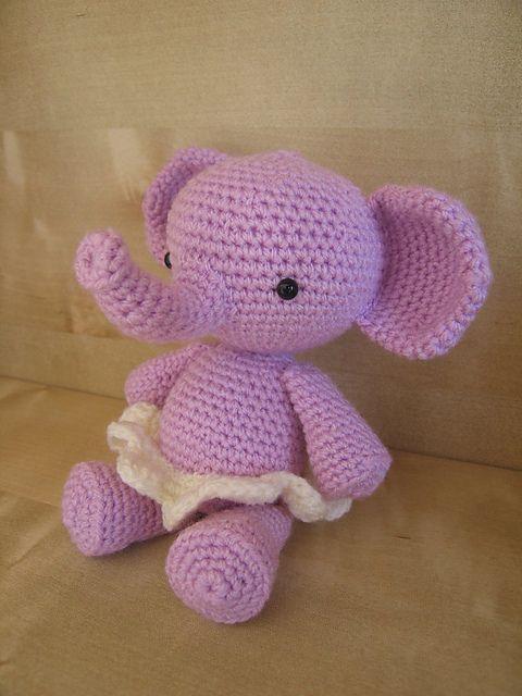 Ravelry: Poolvos' elephant Roosje