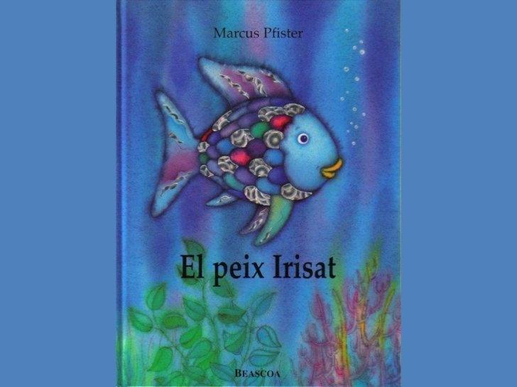 El Peix Irisat en lletra de pal. Captures del llibre (imatges + text) pàgina a pàgina de l'edició en català by Aroa Vidal Calvo, via Slideshare