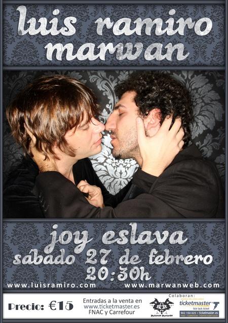 Cartel para Marwan & Luis Ramiro / España
