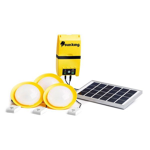 Affordable small solar lightsfrom a B-Corp!  Over 2 billion people around the world live off the reliable electric grid.  Our tireless last mile distribution partners and village sales agents help get our low cost Sun King™ solar devices to off-grid families in need so they can live safer, brighter and more productive lives.