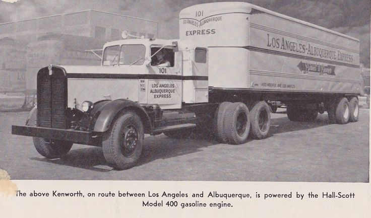 12 best images about road trains in action on pinterest for Motor vehicle express albuquerque