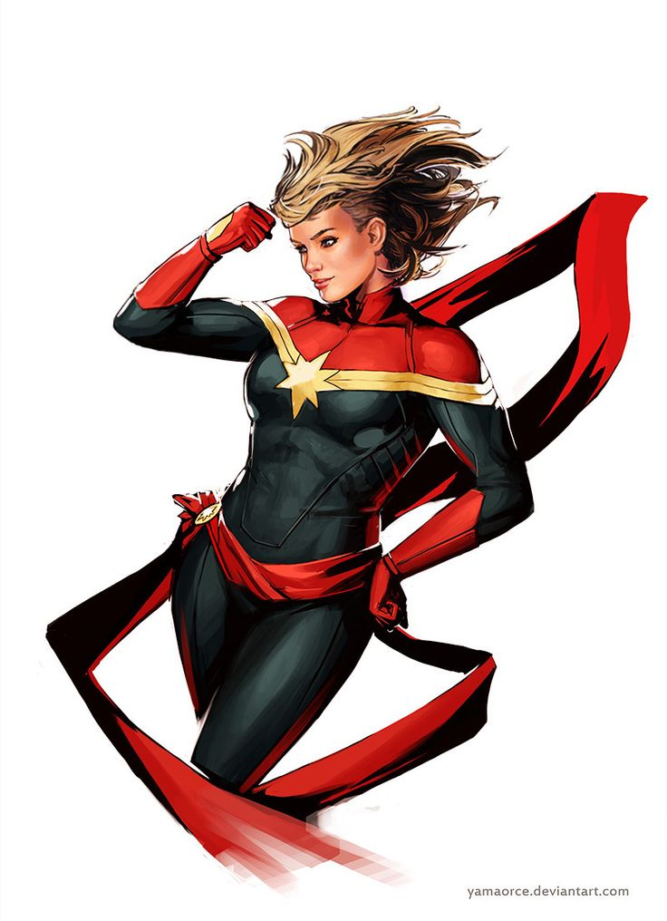 Captain Marvel - Yama Orce                                                                                                                                                                                 More