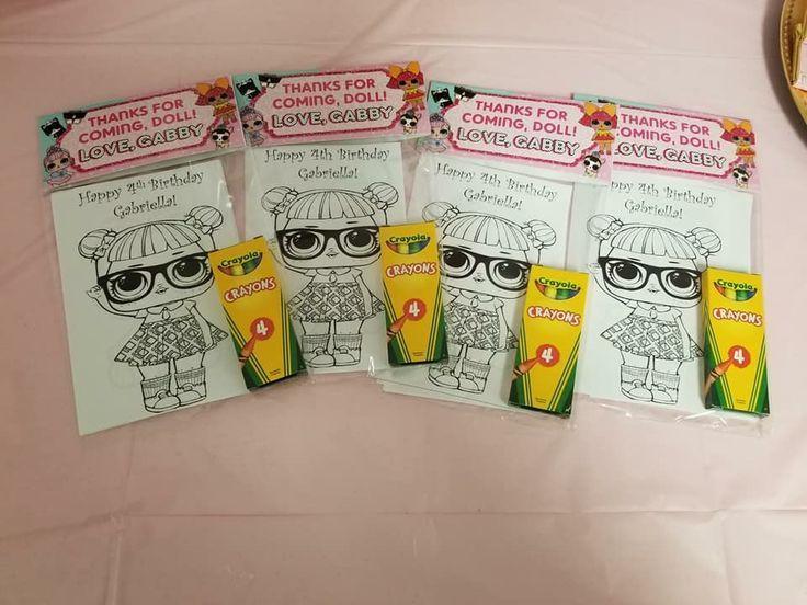 LOl Überraschungspuppen Malvorlagen – LOL Überraschungsparty Ideen – #Coloring #Dolls …   – Lol Dolls